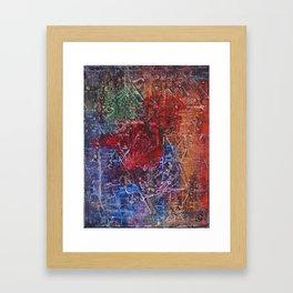 wii built this citi Framed Art Print