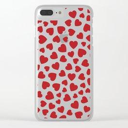 Whole Lotta Love Clear iPhone Case