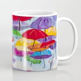 Diane L - Sous la pluie Coffee Mug