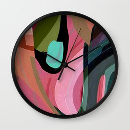 slight disarray Wall Clock