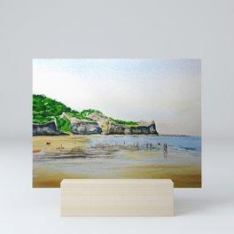 Sandsend Mini Art Print