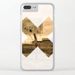 x 10 Clear iPhone Case