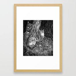 Not the end Framed Art Print