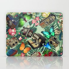 tropical vintage Laptop & iPad Skin