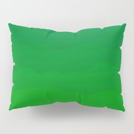 Acid Green Waves - Fresh Fun Greenery Pillow Sham