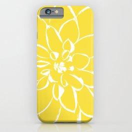 Dahlia Buttercup iPhone Case