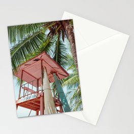 Pink Life Guard Stationery Cards