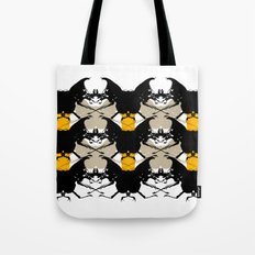 Scarabs Yellow Beige Tote Bag