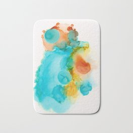 Anatomical Heart Abstract Bath Mat