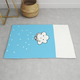 Lovely Cloud - Let is snow Rug