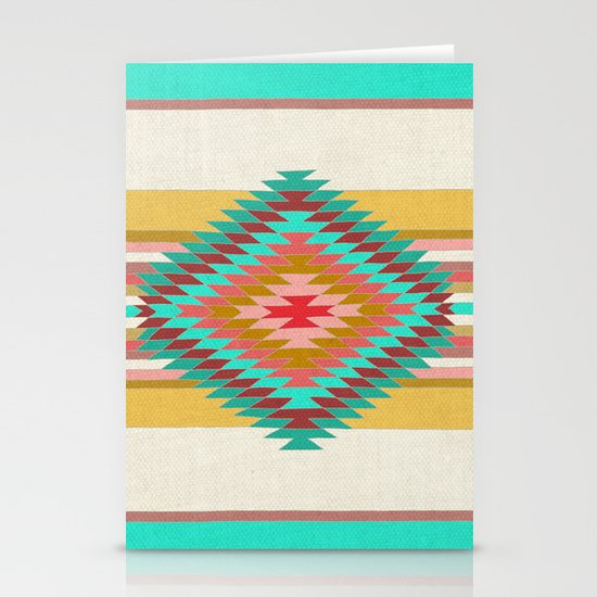 FIESTA (teal) Stationery Cards