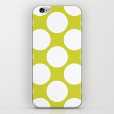 Polka Dots Green iPhone & iPod Skin