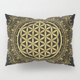 Flower Of Life Mandala Pillow Sham