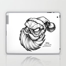 Santa Skully Laptop & iPad Skin