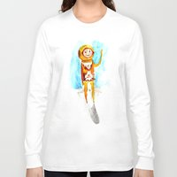 scuba Long Sleeve T-shirts featuring Scuba by Leah Rose Buckman