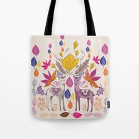 Fall in Love with Fawns Tote Bag