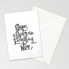 SUGAR & SPICE Stationery Cards