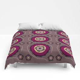 Central Asian Pattern Comforters