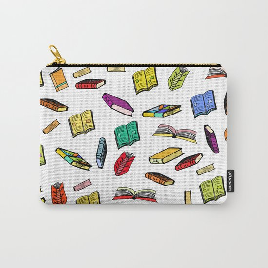 Books all over Carry-All Pouch