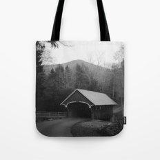 New England Classic Covered Bridge Tote Bag