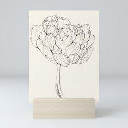 Diamond Tulip Mini Art Print