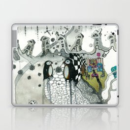 """Penguins"" Laptop & iPad Skin"