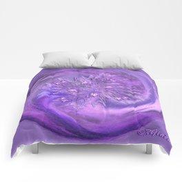 Restrained excitement  Comforters