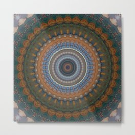 Recreational Maylanta Mandala 39 Metal Print