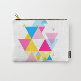 Geometric Composition 01 • Pansexual Flag Carry-All Pouch