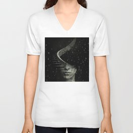 The Sudden Appearance of Hope Unisex V-Neck