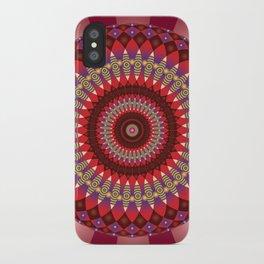 Creativity Mandala - מנדלה יצירתיות iPhone Case