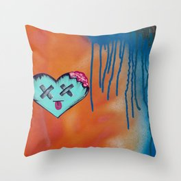 do you see love? Throw Pillow