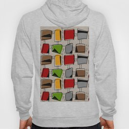 Mid-Century Abstract Rectangles Hoody