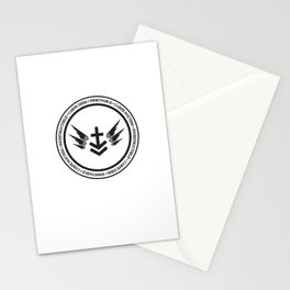 Immovable & Indestructible (Black Design) Stationery Cards