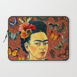 FRIDA bUTTERFLYS Laptop Sleeve