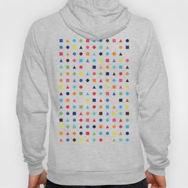 Dot Triangle Square Plus Repeat Hoody