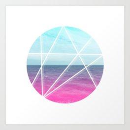 Sea Prism Art Print