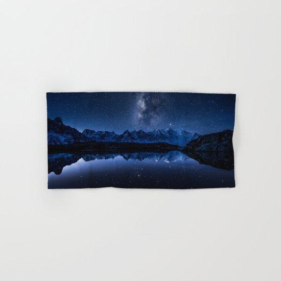 Night mountains Hand & Bath Towel
