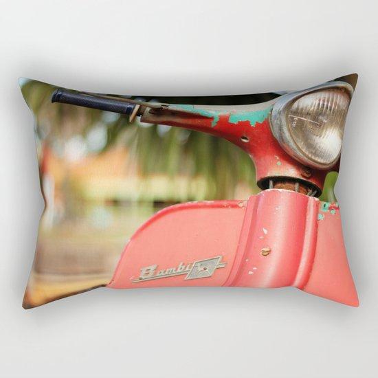 The old scooter - Bambi Rectangular Pillow