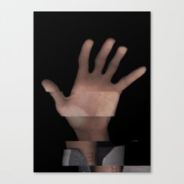 Hands On #1 (Series) Canvas Print