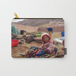 Bolivian little girl. Carry-All Pouch