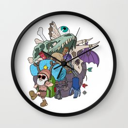 Master Loot Wall Clock