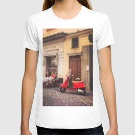 Italy-Vintage Vespa Photo T-shirt
