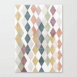 Rhombuses 2 Canvas Print