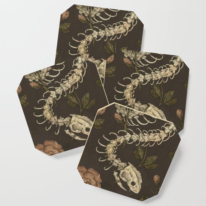 Snake Skeleton Coaster