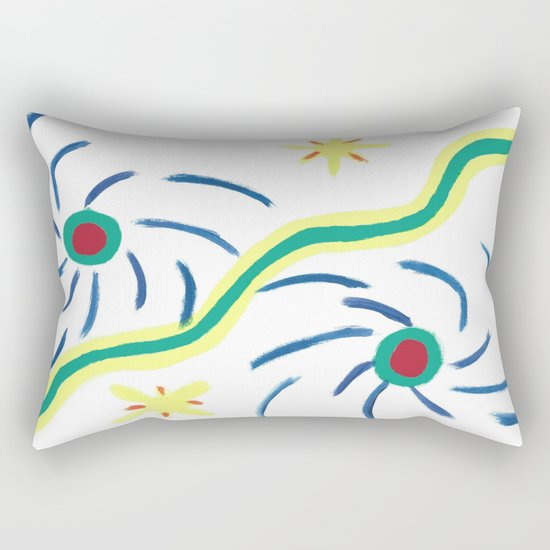 Suns and Hurricanes Rectangular Pillow