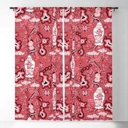 Neo Chinoiserie Blackout Curtain