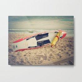Lifeguard Surf Rescue Metal Print