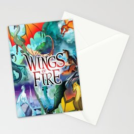 Wings Of Fire All Dragon Stationery Cards