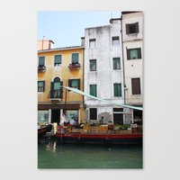 venice Canvas Prints featuring Venice by Kakel-photography